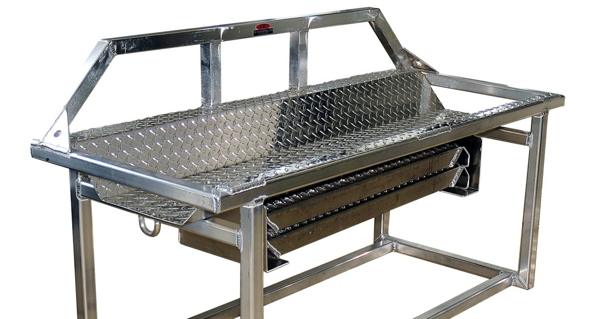 910CG - Quad Rack with Cab Guard and Removable Ramps2 (2)