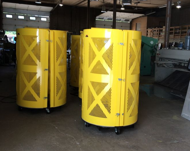 Pulp Mill Bail Wire Guards