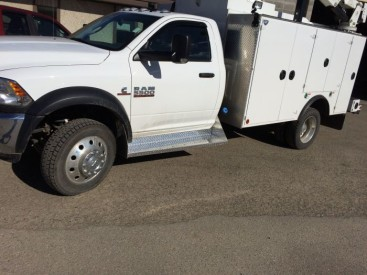 these are Dodge 5500 cab boards flared to 14 @ the rear