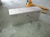 Custom aluminum    box $ 150.00