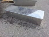 Custom    aluminum storage   Box $ 450.00