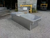 Aluminum cross over box $ 400.00