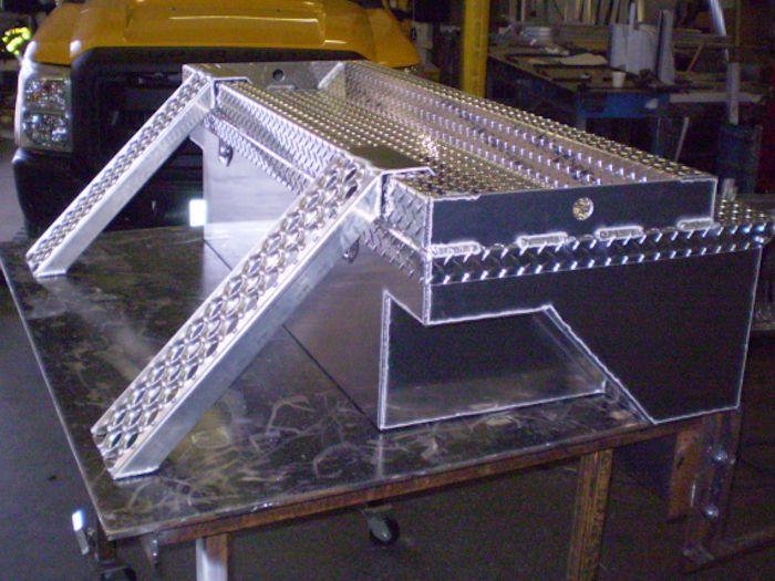 Cc Industries Tool Box With Atv Storage